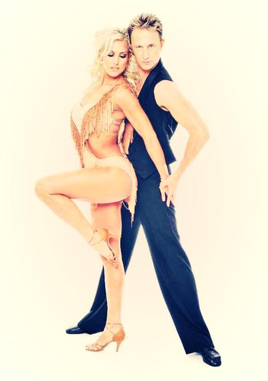 Strictly's Natalie Lowe and Ian Waite