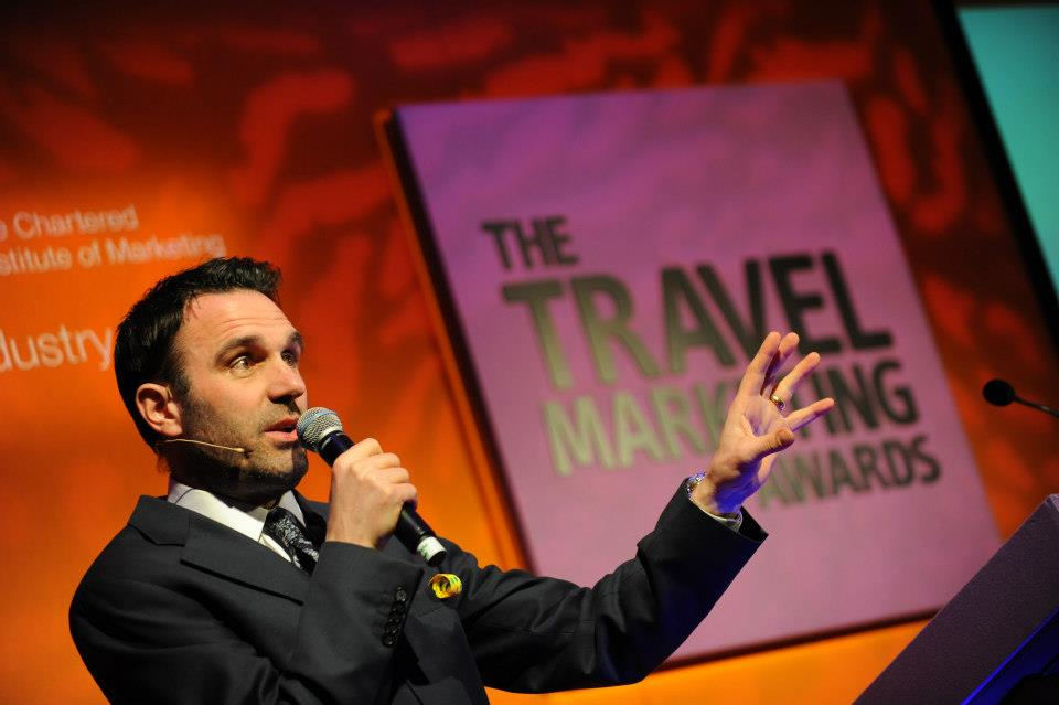 The Travel Marketing Awards host Shaun Keaveny