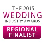 Madhen Regional Finalist the 2015 wedding industry awards