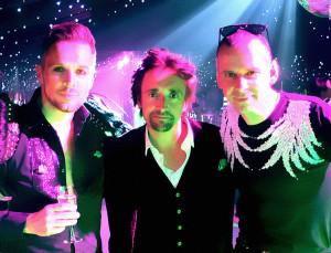 Madhen Matthew and Paul with Richard Hammond