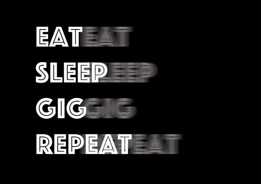 Madhen Eat Sleep Gig Repeat