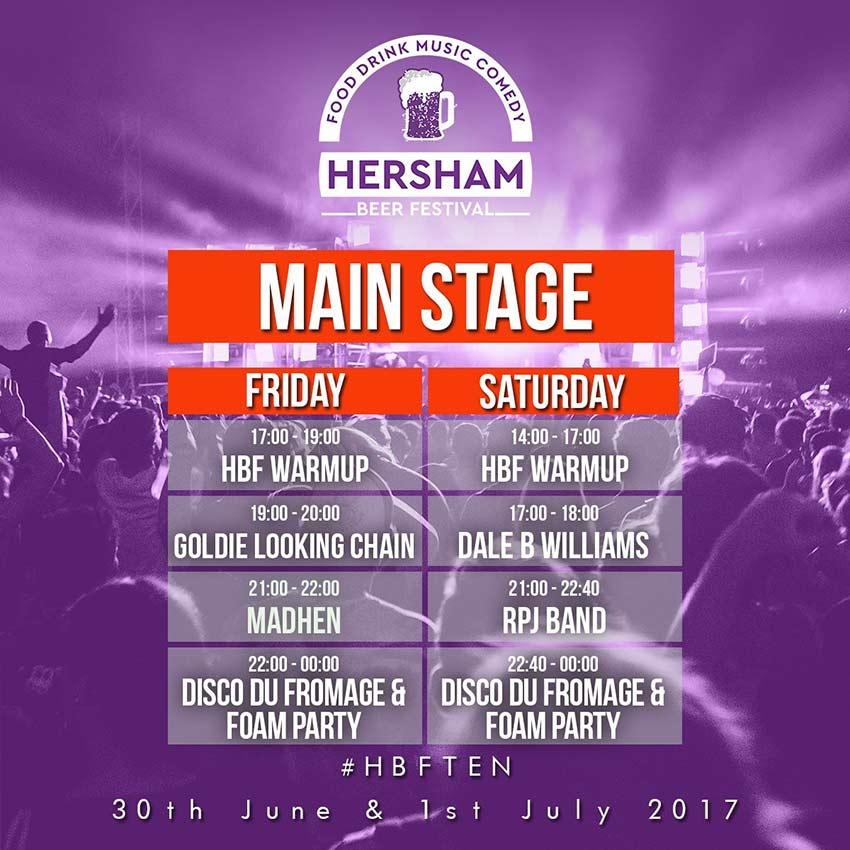 Hersham Beer Festival 2017