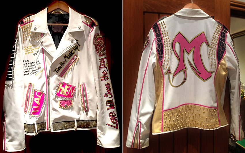 Madhen Partyband Customised Leather Jacket