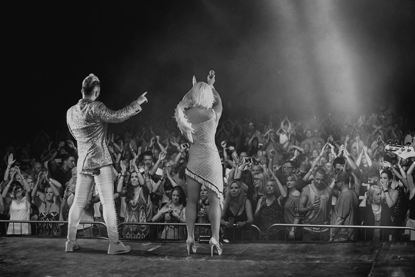 Madhen Crowd Tonbridge Castle 8th July 2017