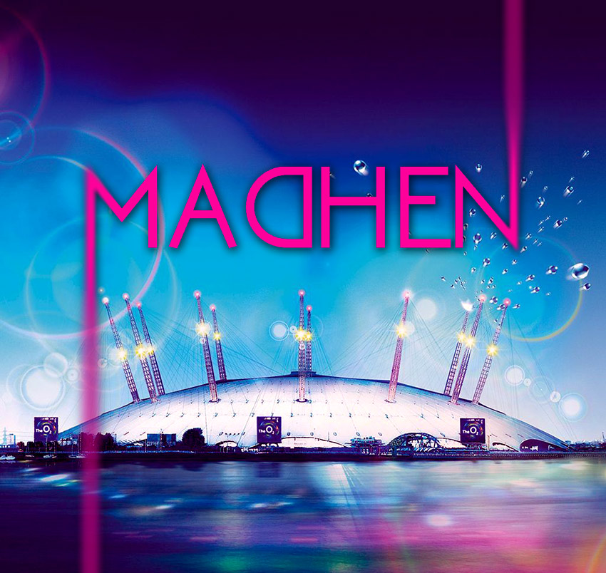 Madhen at the O2