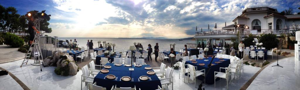 Madhen view from stage at hotel du cap