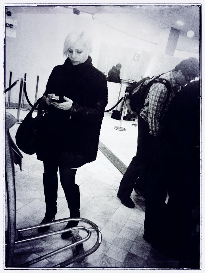 Madhen Helen at Charles de Gaulle Airport