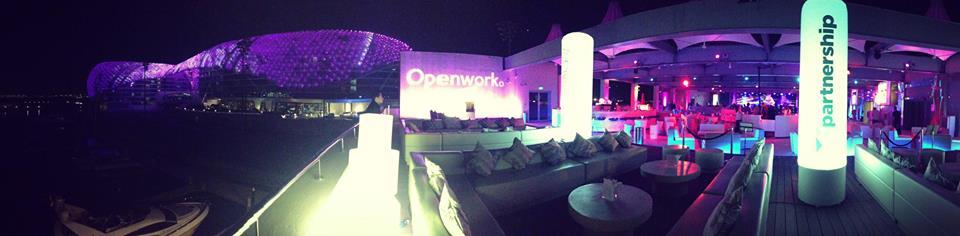 Abu Dhabi Openworks Party Venue