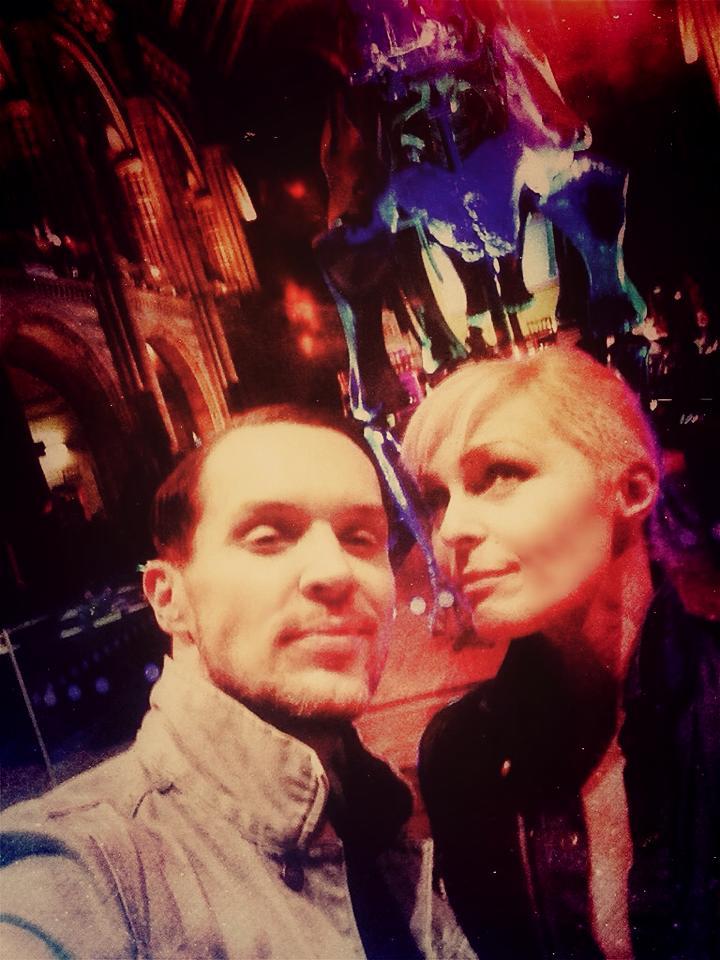 Matthew & Helen with the Dinosaur Bones!