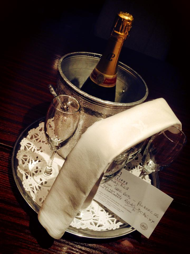 Madhen Champagne Marcliffe Hotel