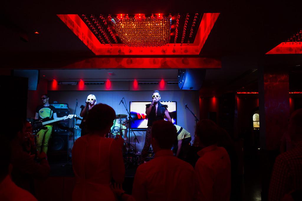 Ogier Madhen Band Matt Porteous