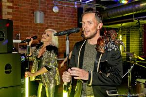 Madhen Helen and Matthew performing live at namco shot by Matt Chung
