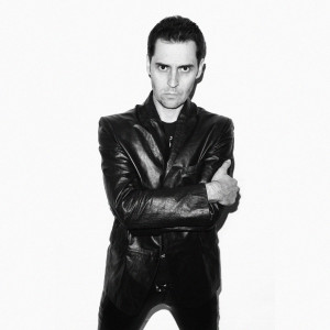 Madhen Martyn black and white leather shot by Joseph Sinclair