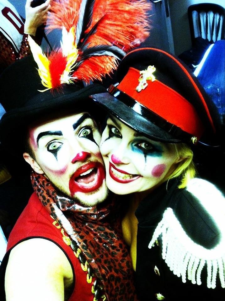 Madhen Clown Costume